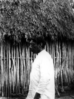 Hombre maya, retrato