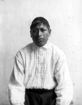 Hombre nahua, retrato