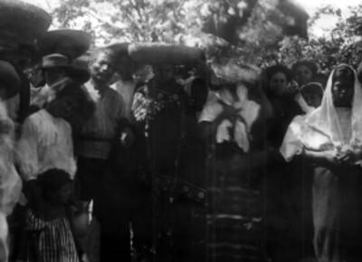 Indígenas, retrato de grupo