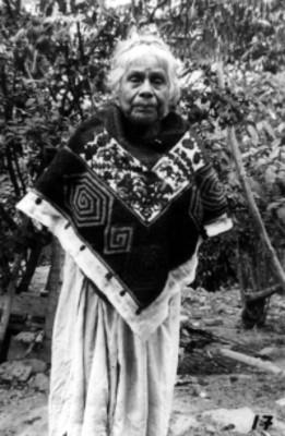 Mujer indígena, retrato