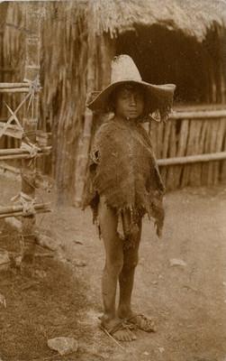 Niño huasteco, retrato