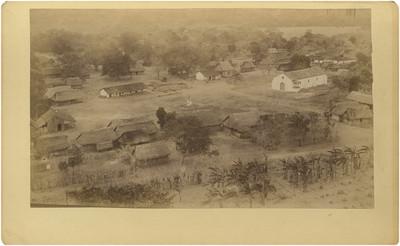 Vista del poblado