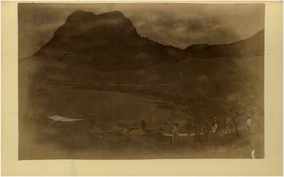 Miembros de la expedición, retrato