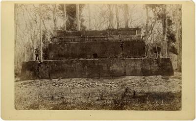Templo de Las Caritas, fachada