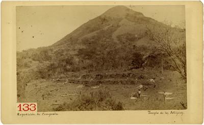 Templo de Atlixcoc, panorámica
