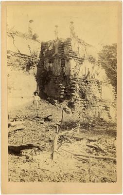Templo del Dios del Aire, detalle