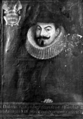 Diego Fernández de Córdoba, Marqués de Guadalcázar, pintura, reproducción