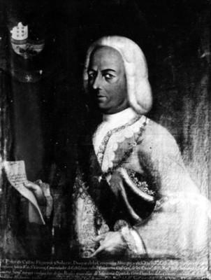 Pedro de Castro Figueroa y Salazar, Virrey de la Nueva España, reproducción