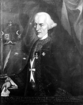 """""""Antonio María de Bucareli y Ursúa"""", virrey, reproducción"""