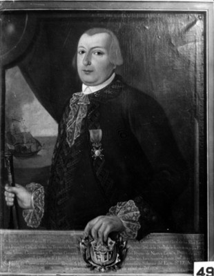 """""""Bernardo de Gálvez"""", virrey, pintura, reproducción"""