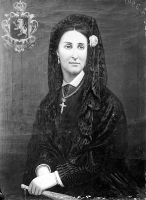 Carlota Amalia de Habsburgo, emperatriz, pintura, reprografía