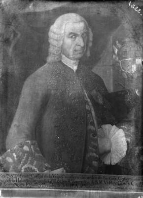 """""""Francisco Caxigal de la Vega"""", virrey, pintura, reprografía"""
