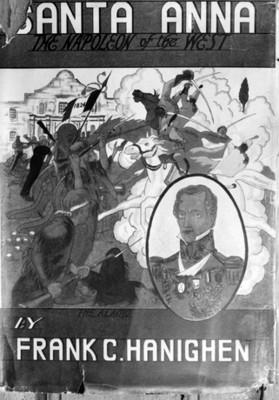 """""""Santa Anna, the Napoleón of the west,"""" portada de libro, reprografía"""