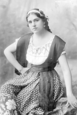 María Coballe, retrato
