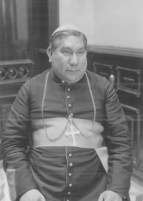 Pacual Díaz Barreto, obispo de Tabasco, retrato