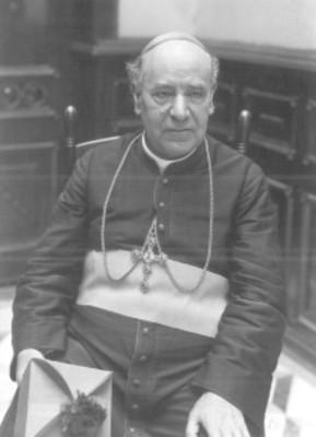 Leopoldo Ruíz y Flores, arzobispo de Michoacán, retrato