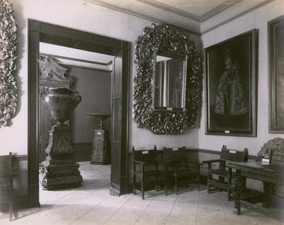 Sala de pintura del Antiguo Museo Nacional, vista parcial