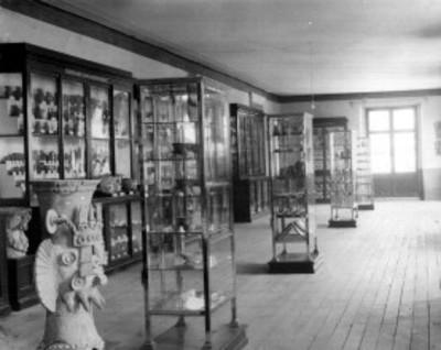 Sala de arqueología del Antiguo Museo Nacional, interior
