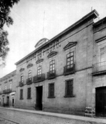 Casa en Morelia por donde pasó Hidalgo