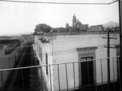 Panorámica de Morelia tomada desde un balcón de la casa de José Ma. Morelos