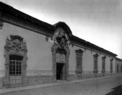 Casa de finales del Siglo XVIII, fachada