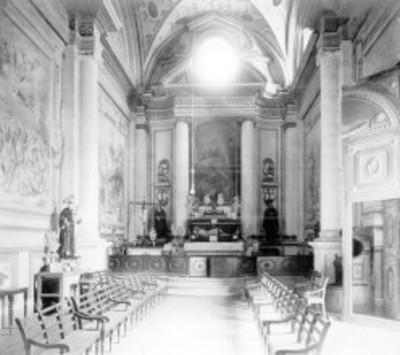 Altar de la Iglesia de San Francisco, capilla lateral, interior