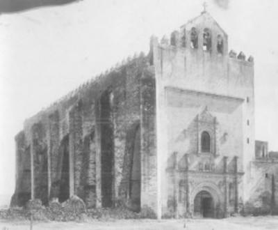 Iglesia del exconvento de San Agustín, exterior, vista lateral