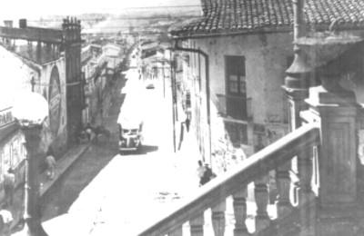 Vista general de la Calle Úrsulo Galván