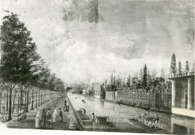 """""""Paseo de la Viga al suroeste de México"""", pintura"""