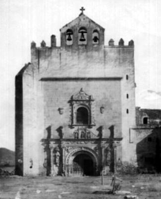 Iglesia del convento Agustino, fachada, vista frontal