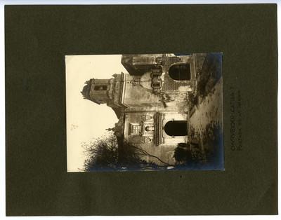 Capilla del Convento de Churubusco, vista general