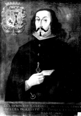 Luis Enriquez de Guzmán, virrey, retrato