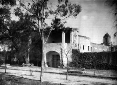 Fachada del ex-convento de Churubusco