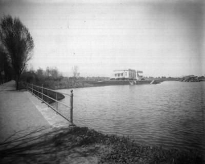 Embarcadero del Lago de Chapultepec, vista parcial