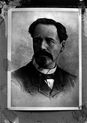 Antonio García Cubas, ingeniero, litografía, retrato