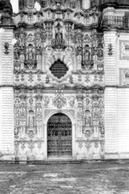 Portada del Templo de San Francisco Javier