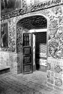 Puerta del Relicario de San José en la Iglesia de San Francisco Javier