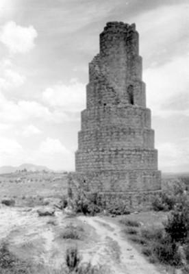 Torre del acueducto Los Remedios, vista general