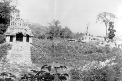 Templo del Sol antes de su reconstrucción