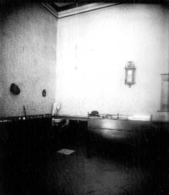 Pieza en la casa del corregidor, interior