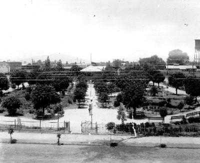 Panorámica del parque Héroes de Chapultepec