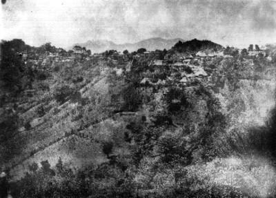 Panorámica del pueblo de Quezaltepec San Miguel