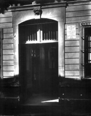 Casa en que habitó don Diego Leaño precursor de la Independencia