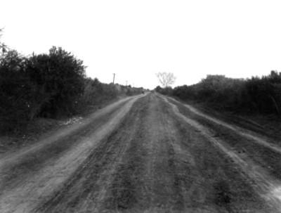 Camino en el Valle de Mexicali