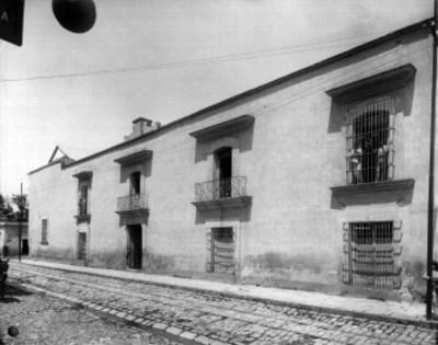 Fachada de la Cárcel real en el año de 1811