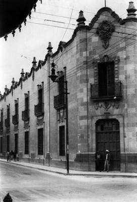 Casa de Moneda, fachada, vista parcial