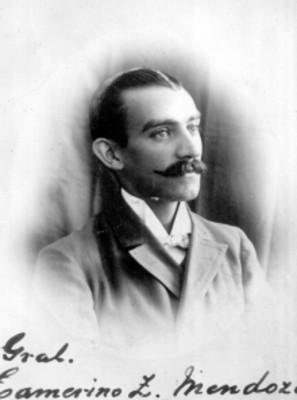 General Camerino Z. Mendoza, retrato