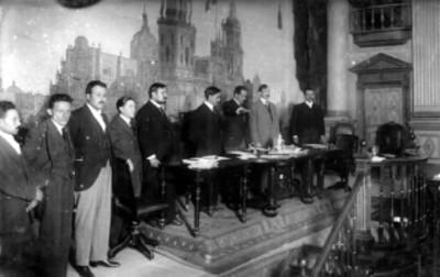 Luis M. Rojas en el congreso constituyente