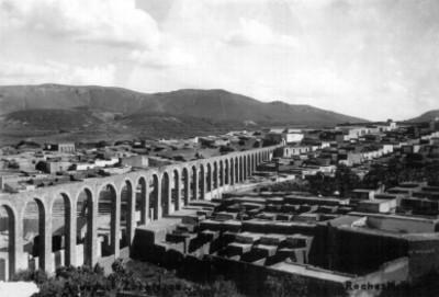Acueducto de Zacatecas vista parcial