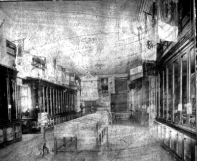 Museo Nacional de Artilleria, vista parcial de una sala